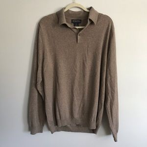 Brooks Brothers Merino Wool Sweater—XL